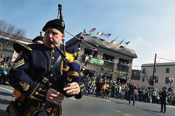 Molly Spillane's will be bringing in bagpipers for its St. Patrick's day celebration.