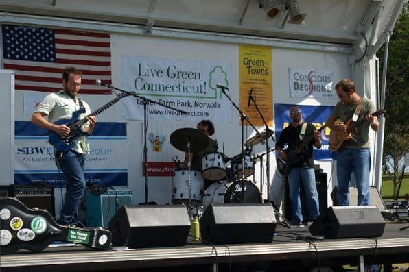 Ken Coulson and Gatby's Greenlight Band were one of the acts on the main stage at the Live Green CT Festival in 2013. The festival is returning in September.