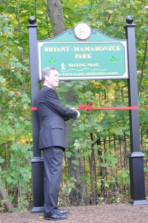Bryant-Mamaroneck Park opened in 2013.