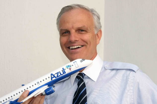 JetBlue founder David Neeleman will speak at the Darien Library on Wednesday, March 19.