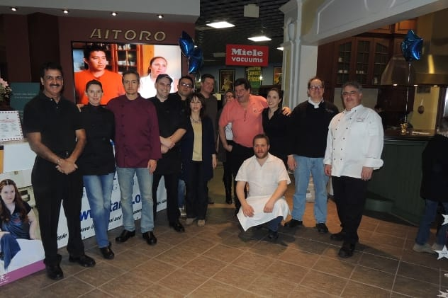 """Aitoro's Appliance Showroom in Norwalk hosted the """"Galaxy of Gourmets for STAR"""" and helped raise more than $6,000."""