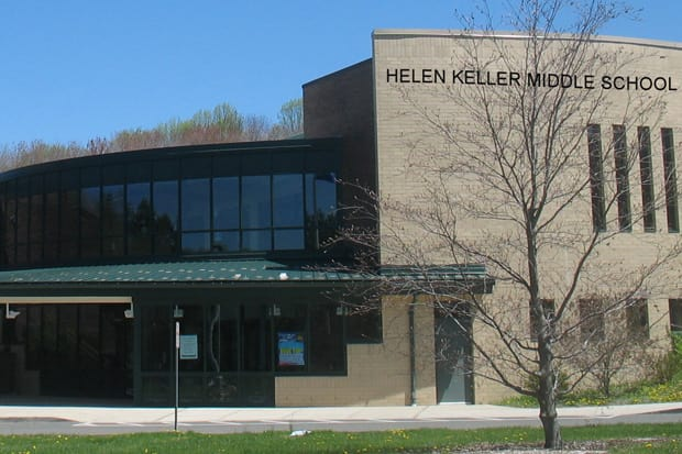 Helen Keller Middle School will host a principal's coffee on Friday, March 21.