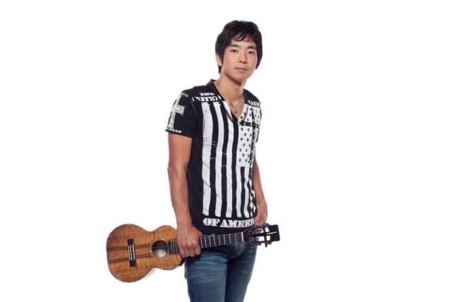 Jake Shimabukuro is bringing his ukulele to The Ridgefield Playhouse on Sunday, March 23.