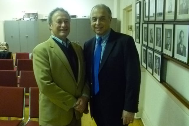 Pelham Manor incumbents Neal Schwarzfeld (left) and Louis Annuziata (right) were reelected on Tuesday for new two-year trustee terms after running unopposed.