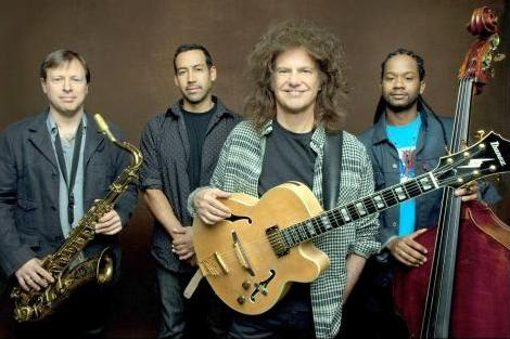 The Pat Metheny Unity Group, featuring jazz guitarist Pat Metheny, will perform on Fairfield University's Quick Center for the Performing Arts.