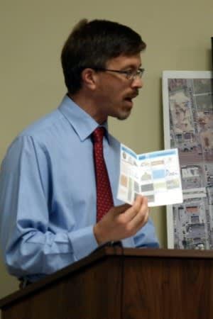 Fairfield Director of Community and Economic Development Mark Barnhart