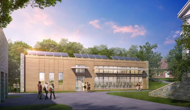 Pace University's tentative environmental center.