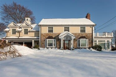 This house at 2 Knollwood Road in Eastchester is open for viewing on Sunday.