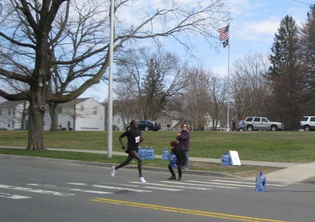The Danbury half marathon will be held on Sunday, April 6.
