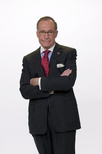 CNBC's Larry Kudlow is set to speak at the New Covenant House of Hospitality's Celebrity Breakfast Fundraiser in April in Darien.