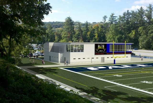 Pace University announces design team and upcoming renovation designs for the athletics department in Pleasantville.