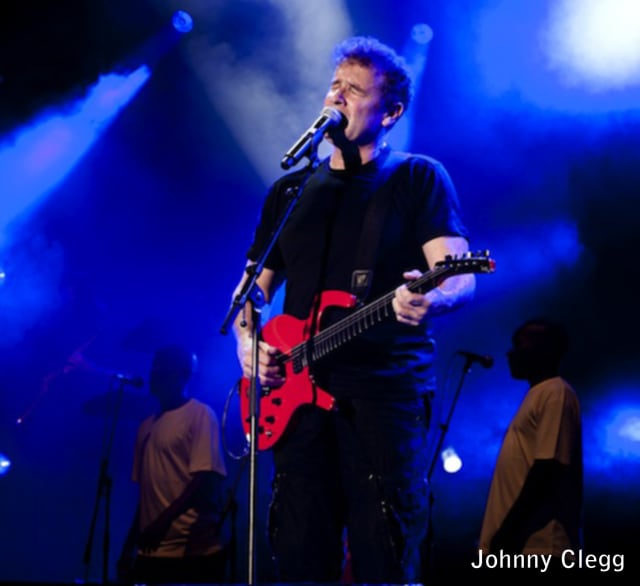 South Africa's Johnny Clegg will perform at the Ridgefield Playhouse on Wednesday, April 2.