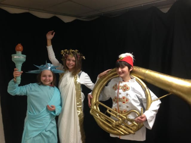 "Students from The Chapel School will perform ""The Music Man Junior"" starting on Friday, April 4."