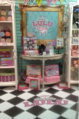 Norwalk's Shari Kaufman has shipped display-ready Sugar Lulu kiosks to stores across the U.S.