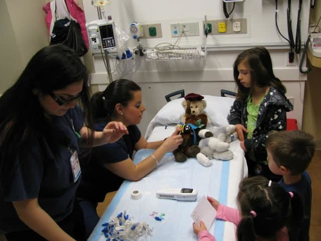 Northern Westchester Hospital will be hosting a teddy bear clinic and health fair for children to learn about the possibilities of what may happen if they visit a hospital.