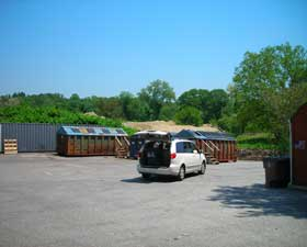 Stamford is closing the Scofieldtown Road Recycling Center for the rest of the year so work can be done on the site.