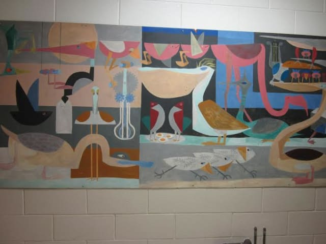 Pequenakonck Elementary School will hold a ceremony to formally dedicate a space for famous author and illustrator Robert McCloskey's mural.