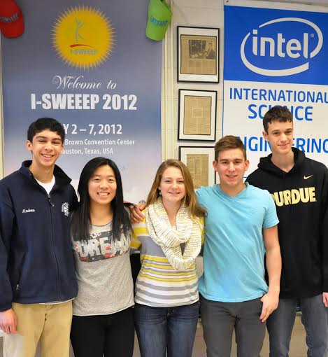 From left, Jason Toporoff, Catherine Chung, Sara Mongno, Matt Wrubel and Erik Santini.