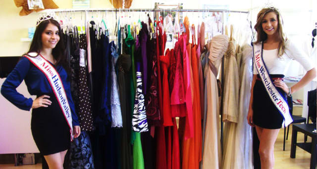 Operation Prom is giving away dresses at the Westchester County Center in April.