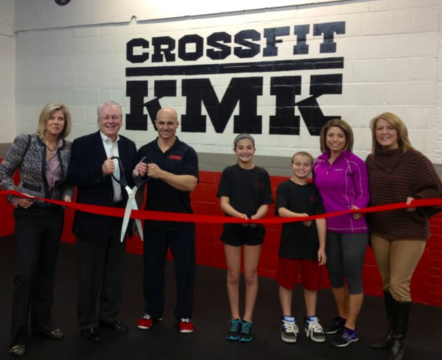 Local Fairfield dignitaries recently celebrated the official opening of CrossFit KMK.