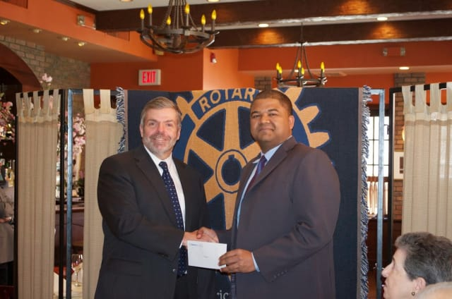 The Scarsdale Rotary Club recently awarded a $1,000 grant to St. Christopher's Inc.