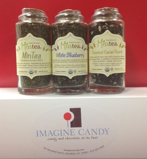 Scarsdale's Imagine Candy is expanding its product selection to include Misstea organic teas.