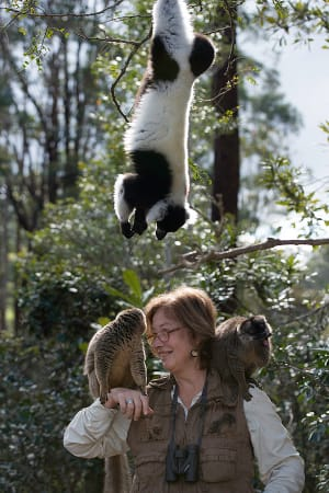 Dr. Patricia Wright will talk about her work with the endangered lemurs in a special presentation on Thursday, April 17, at The Maritime Aquarium at Norwalk.