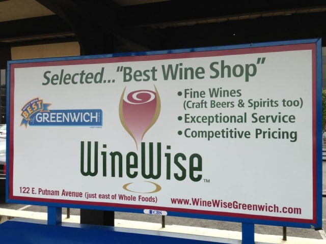 WineWise in Greenwich has wine tastings on weekends, free delivery in Greenwich and a temperature-controlled vault. The store also sells a wide selection of spirits and craft beers.