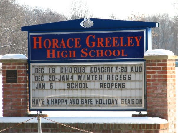 Horace Greeley High School in Chappaqua is among the most challenging high schools in Westchester County, according to an annual Washington Post study.