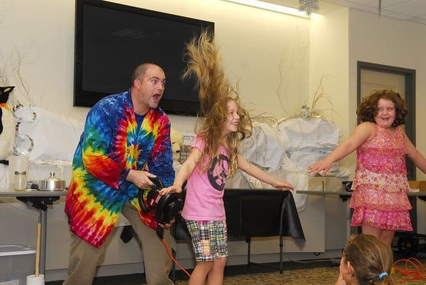 The Blythedale School in Valhalla is set to present the interactive science storytellers known as Sciencetellers on Wednesday, April 9.