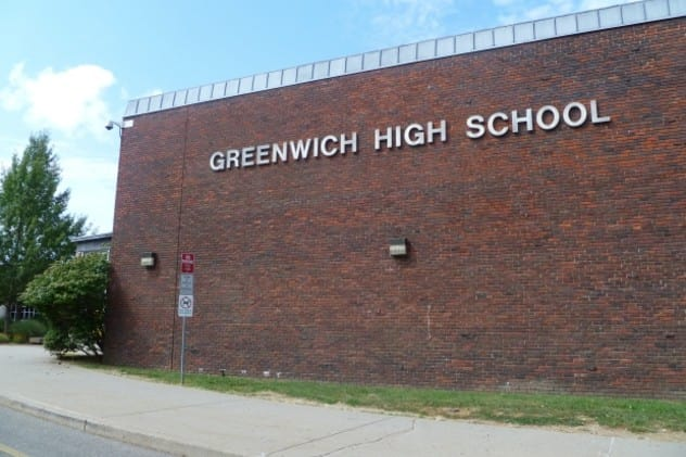 Greenwich High School is among the most challenging schools in Connecticut, according to an annual Washington Post study.