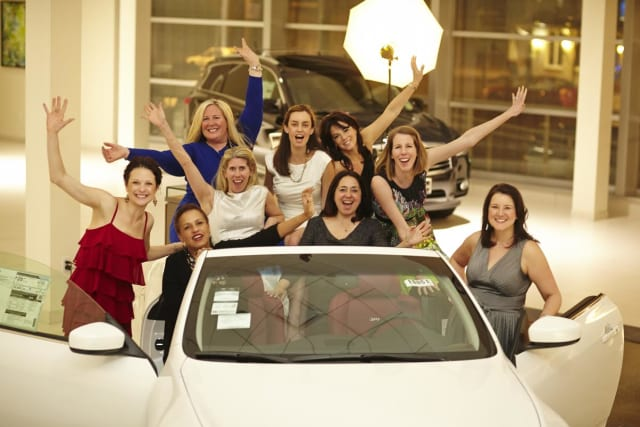The Junior League of Central Westchester Glitz & Glamour fund-raiser was held at was held at Pepe Infiniti in White Plains.