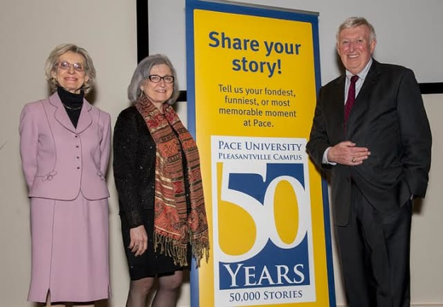 Pace University hosted renowned historian Kenneth T. Jackson for a lecture on the evolution of Westchester.