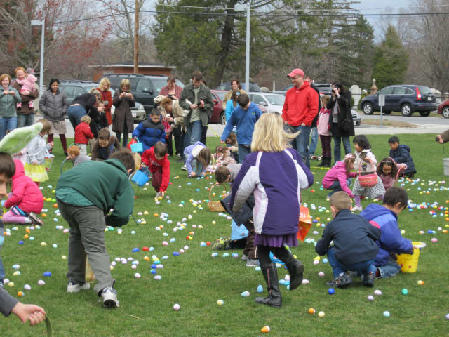 The Greenburgh Nature Center is holding an Easter egg hunt this Saturday.