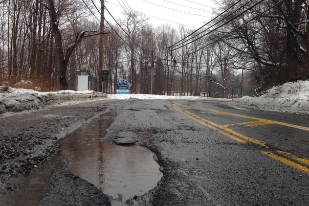 Westchester County cities, villages and towns will receive a total of $1,207,988.17 to repair potholes and roads.