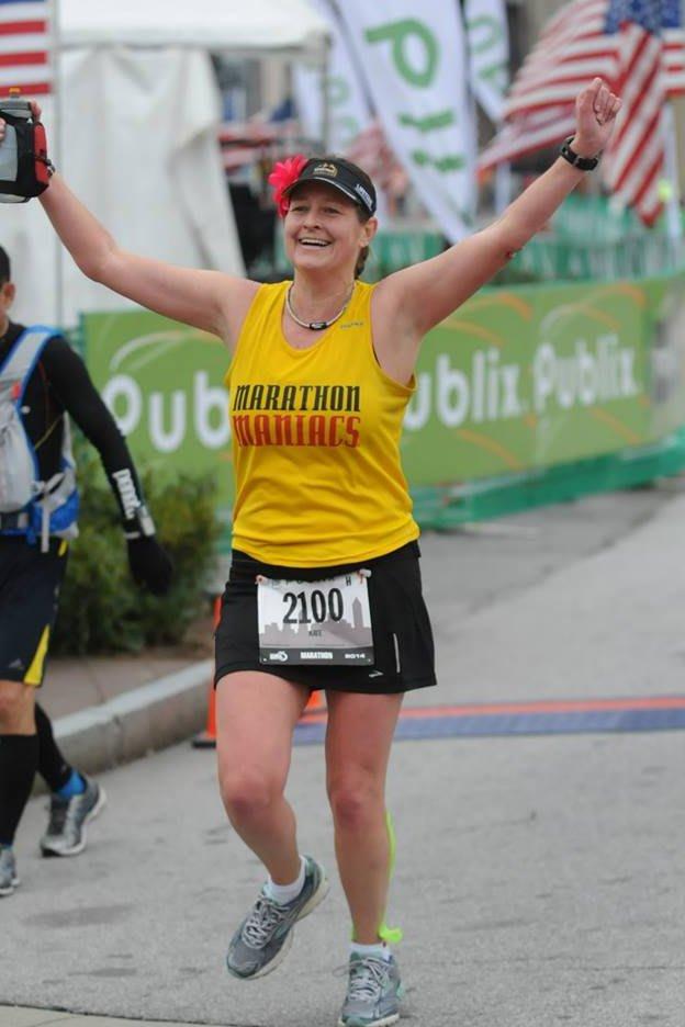 Norwalk runner Kate Stoker will run the Boston Marathon on Monday. It will be her 16th marathon in 12 months, and fourth Boston.