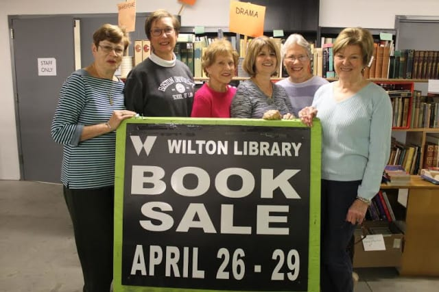 The Annual Gigantic Book Sale Fundraiser by Wilton Library will open on Saturday, April 26, and run through Tuesday, April 29.