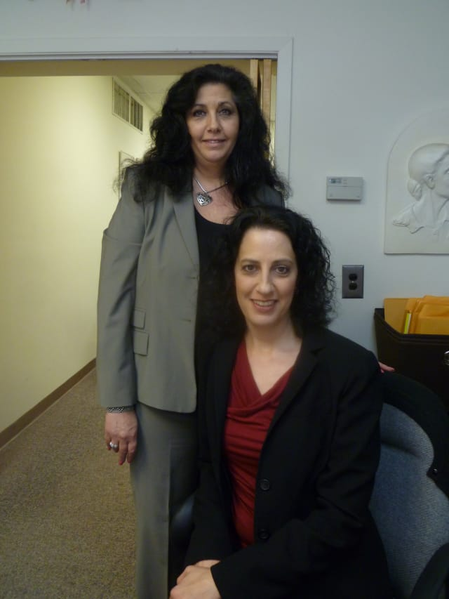 Accounts Mary Felenczak, left, and Deena Grabowski of Grabowski Associates, Inc, in Hastings suggest using a professional to prepare tax returns.