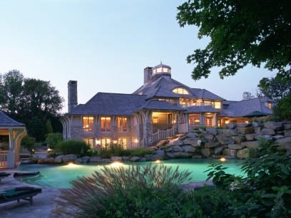 Greenwich is home to not one, but two, of the richest neighborhoods in America.
