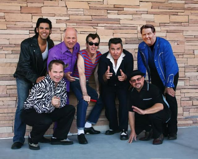 "The Ridgefield Playhouse is celebrating the 35th anniversary of the movie ""Grease"" with Sha Na Na in concert on Friday, April 25."
