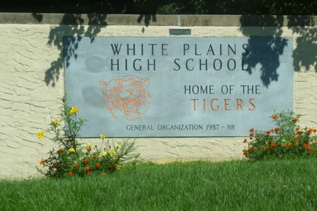 White Plains High School students recently received President's Volunteer Service Awards.