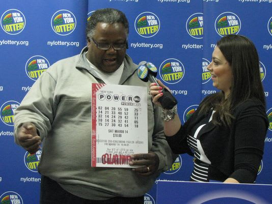 Mount Vernon's Anthony Sawyer won $1 million in the New York Lottery Powerball drawing on March 8, according to a report from LoHud.