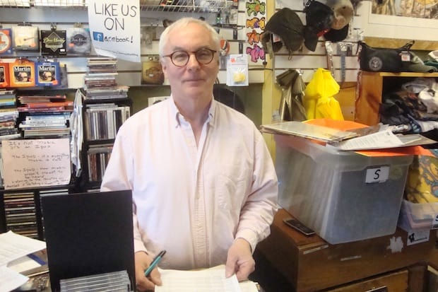 Johnny Konrad of Johnny's Records in Darien said that Record Store Day has become the busiest day of the year.