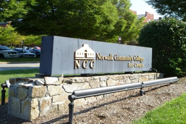 The Triangle Community Center is supporting an investigation into an Anti-LGBTQ slur on the campus of Norwalk Community College.