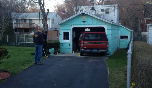 A Fairfield man was seriously injured when he became pinned between his pickup truck and garage.