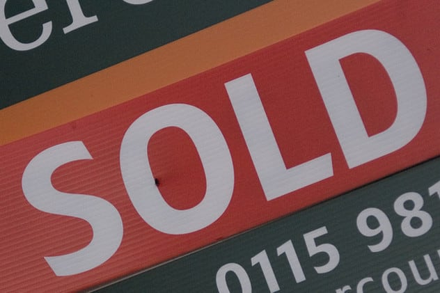 Average home prices soared 20 percent in Greenwich in the first quarter of 2014, according to a recent report.