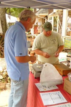 A farmers/bakers market returns to Antiques & Tools of Business & Kitchen in Pound on Sunday, April 27, beginning at 11 a.m.