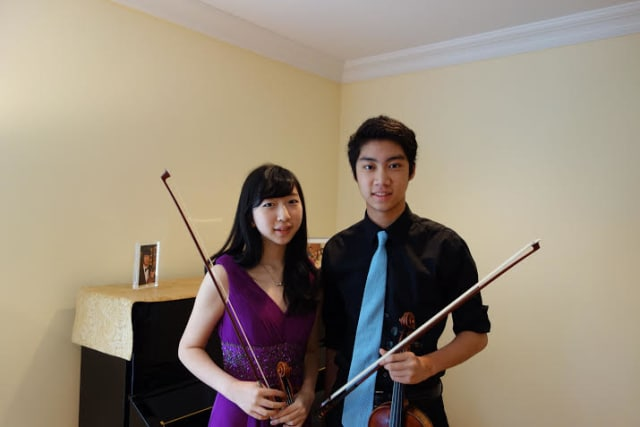 Scarsdale High School Violin Duo Naoko Nakajima and Alan Yao will be among six Westchester students at the 2014 Hudson Valley Music Club Student Awards Competition.