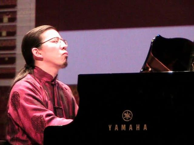 Yahama artist Frederic Chiu will perform at South Salem Presbyterian Church on Sunday, April 27.