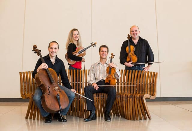 The St. Lawrence String Quartet will perform at Sleepy Hollow High School on Saturday, May 10.
